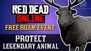Red Dead Online - Free Roam Event Protect Legendary Animal Naturalist Role