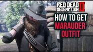 Red Dead Redemption 2 - How To Get The Marauder Outfit! Location Guide