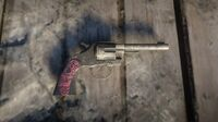 Micah's Revolver on the ground