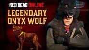 Red Dead Online - Legendary Onyx Wolf Location Animal Field Guide