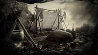 The Loft tent and campsite loading screen