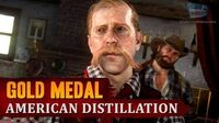 Red Dead Redemption 2 - Mission 28 - American Distillation Gold Medal