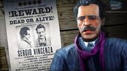 Red Dead Online Legendary Bounty -4 - Sergio Vincenza (5-Star Difficulty - Solo)