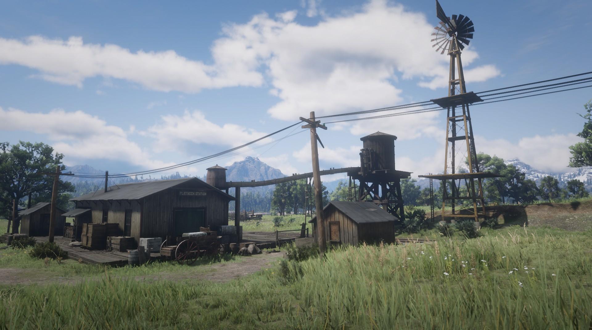 Flatneck Station