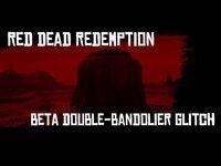 RDR1 - Cut Double Bandolier Glitch! Working! -Xbox One-