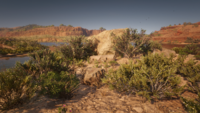 San Luis River rock from the loading screen