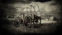 Wagon in Cholla Springs loading screen
