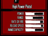 High Power Pistol