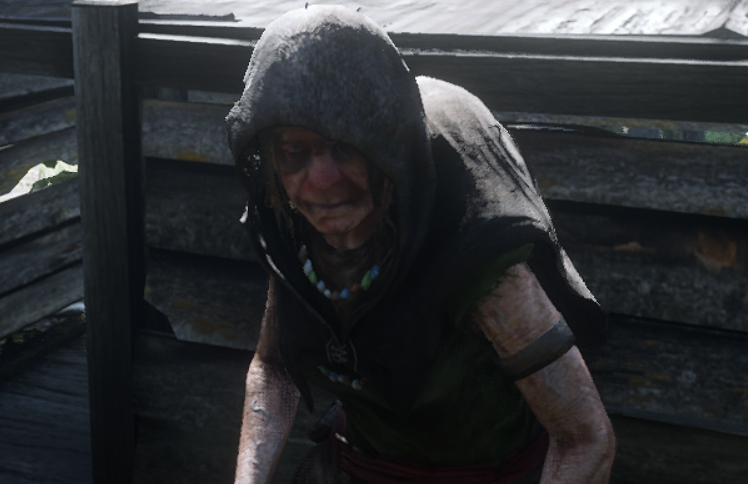Hermit Woman