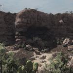 Cueva Seca wagon remains.png