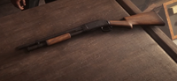 Pump-Action Shotgun - Red Dead 2
