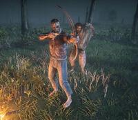 Night Folk member using a bow