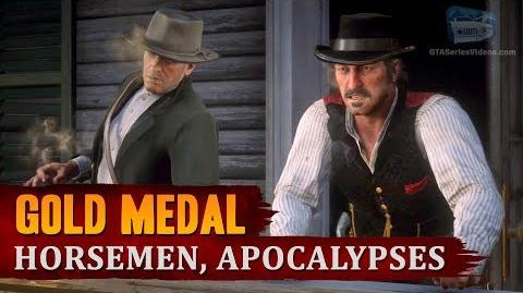 Red Dead Redemption 2 - Mission 53 - Horsemen, Apocalypses Gold Medal