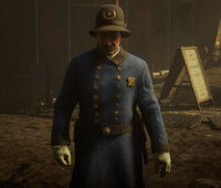 Saint Denis Police officer