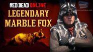Red Dead Online - Legendary Marble Fox Location Animal Field Guide