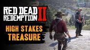 Red Dead Redemption 2 - High Stakes Treasure Location