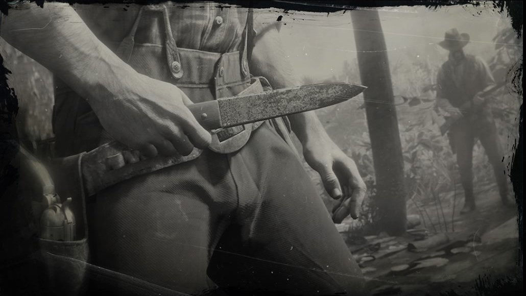Throwing Knife (RDR 2)