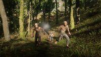 Murfree Brood ambush during the Wilderness Hanging random encounter