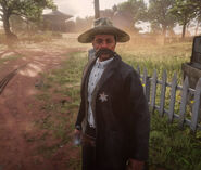 Harmon Thomas outside rdr2