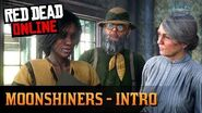 Red Dead Online- Moonshiners - Intro Mission (Rescue Cook and Get Equipment)