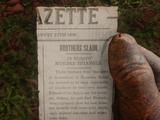 Bennett Brothers Newspaper Scrap
