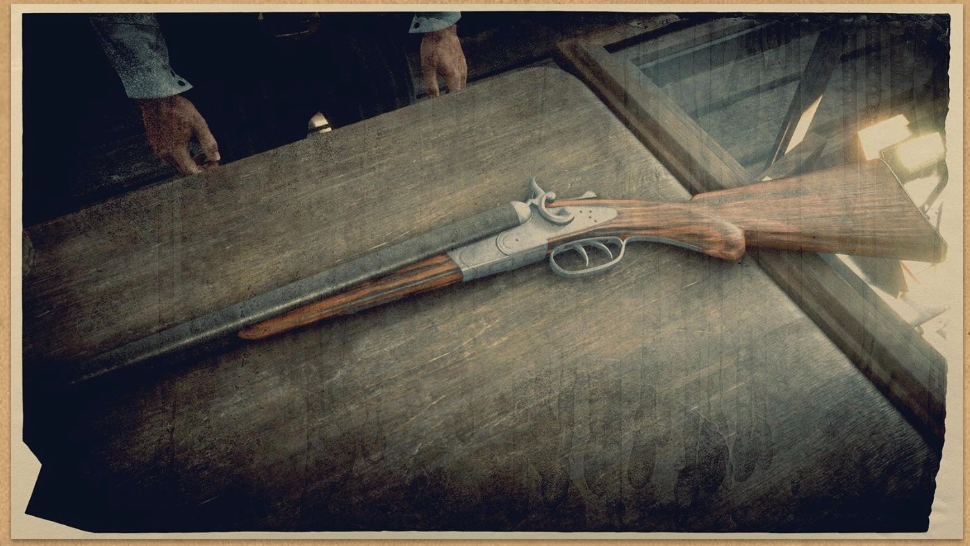 Double-barreled Shotgun (RDR 2)