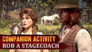 Red Dead Redemption 2 - Companion Activity 10 - Coach Robbery (Sean)