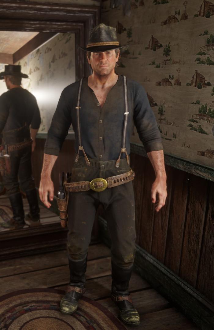 Shirts in Redemption 2