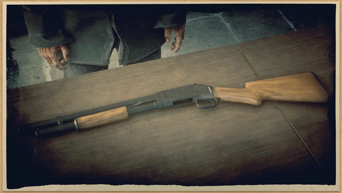 Pump-action Shotgun (RDR 2)