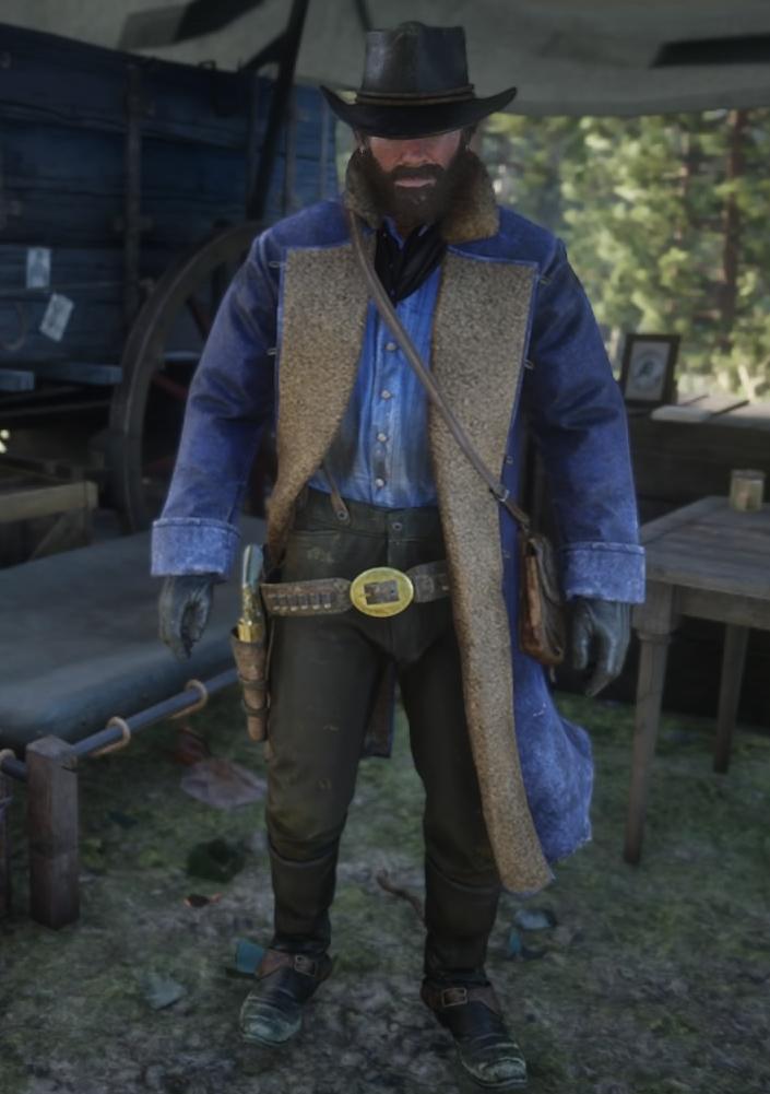 Winter Gunslinger Outfit