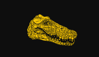 Legendary Banded Gator HUD