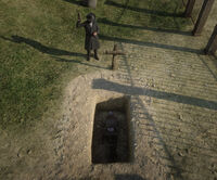 Elias Green burial Random encounter