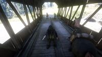 O'Driscoll ambush at the bridge near the Dakota River