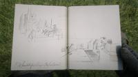 Smithfields Saloon journal entry by Arthur