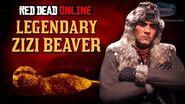 Red Dead Online - Legendary Zizi Beaver Location Animal Field Guide