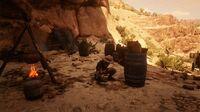 Cueva Seca hideout's leader in Red Dead Online