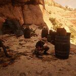 Cueva Seca hideout's leader in Red Dead Online.jpg