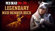 Red Dead Online - Legendary Mud Runner Buck Location Animal Field Guide