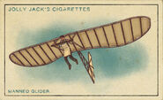 Amazing Inventions Card Manned Glider