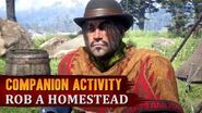 Red Dead Redemption 2 - Companion Activity 3 - Home Robbery (Javier)