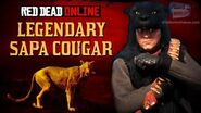 Red Dead Online - Legendary Sapa Cougar Mission Animal Field Guide