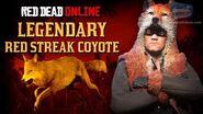 Red Dead Online - Legendary Red Streak Coyote Location Animal Field Guide