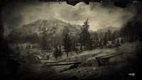 Big Valley loading screen - broken bridge