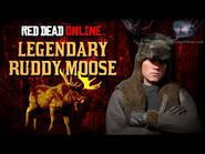 Red Dead Online - Legendary Ruddy Moose Mission -Animal Field Guide-
