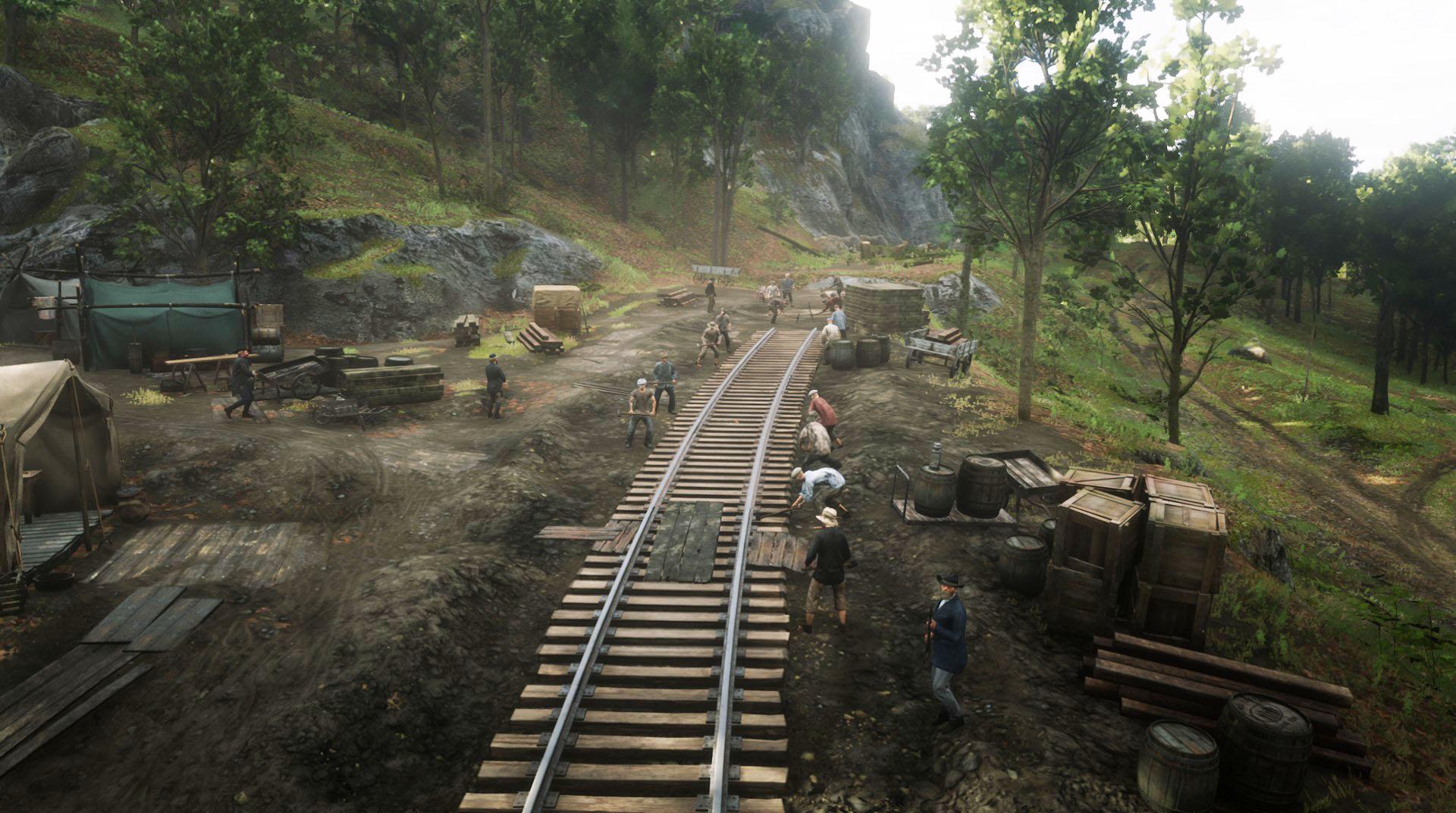 Central Union Railroad Camp