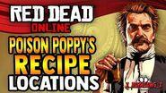 Red Dead Online - Poison Poppy's Moonshine Recipe Location - RDR2