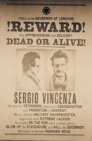 SergioVincenza-WantedPoster