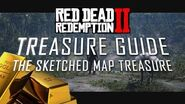 RDR2 THE SKETCHED MAP TREASURE