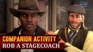 Red Dead Redemption 2 - Companion Activity 12 - Coach Robbery (Lenny)