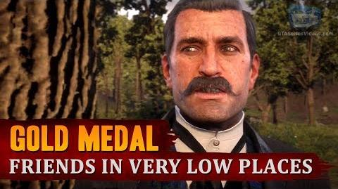 Red Dead Redemption 2 - Mission 33 - Friends in Very Low Places Gold Medal